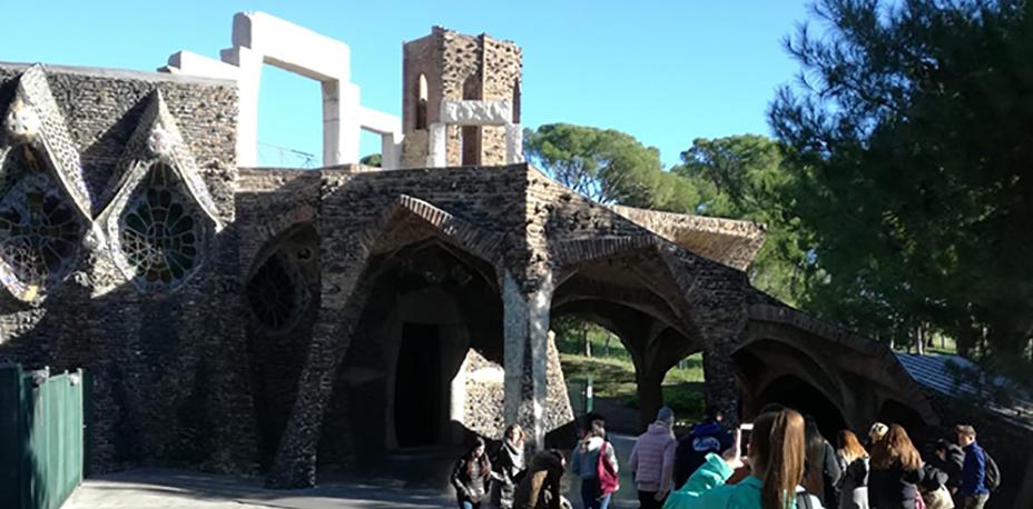 Visita a la Colònia Güell | Escola Universitària Formatic Barcelona