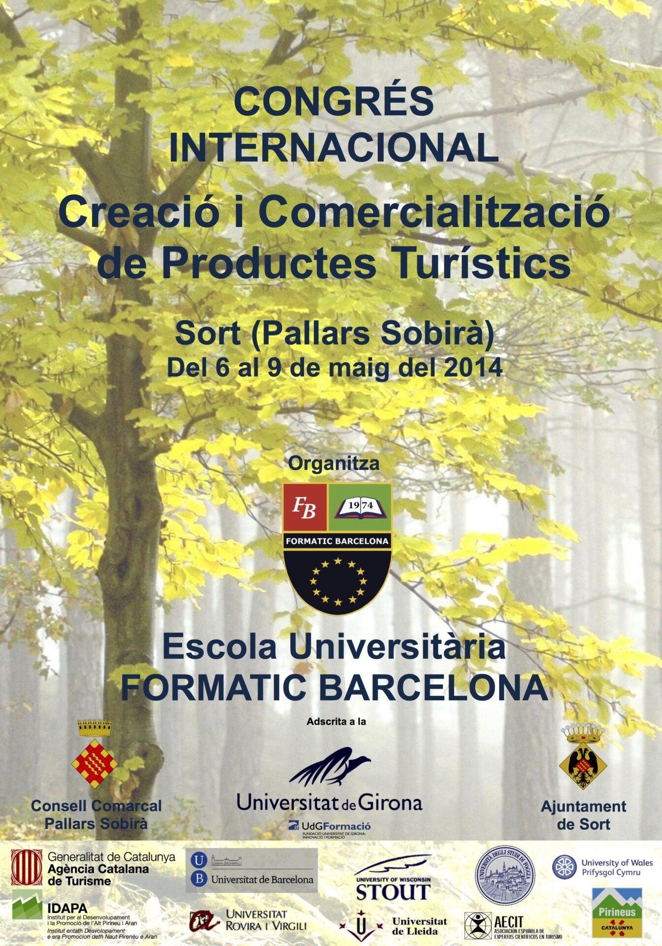 I Congrés Internacional de Turisme | Escola Universitària Formatic Barcelona
