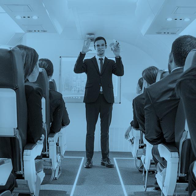 Tripulante de cabina de pasajeros | Escuela Universitaria Formatic Barcelona