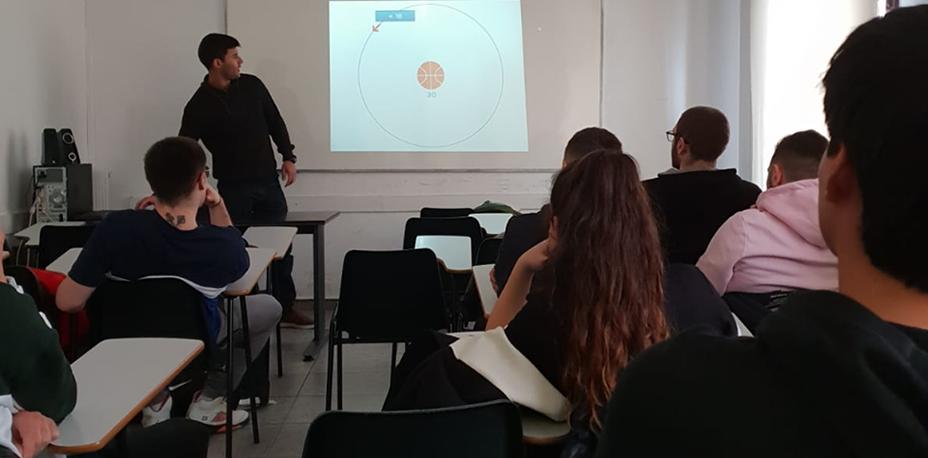 Xerrada orientativa sobre fitness i salut | Escola Universitària Formatic Barcelona