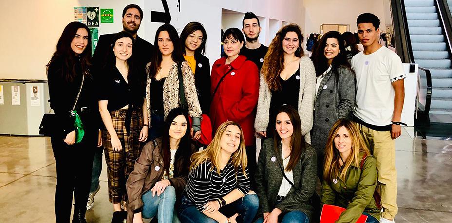 Salida al Museu del Disseny de Barcelona | Escuela Universitaria Formatic Barcelona