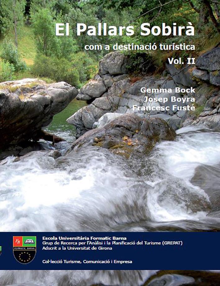 El Pallars Sobirà com a destinació turística, Vol II