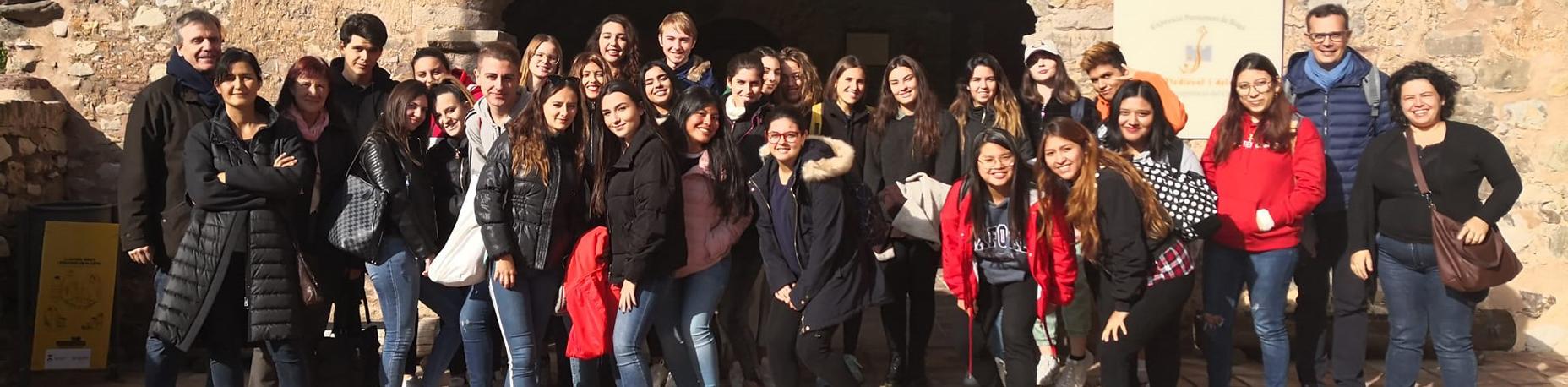 Estudiants de primer curs de Grau en Turisme participen en la X Jornada d'Innovació i Recerca Docent al municipi de Bagà | Escola Universitària Formatic Barcelona