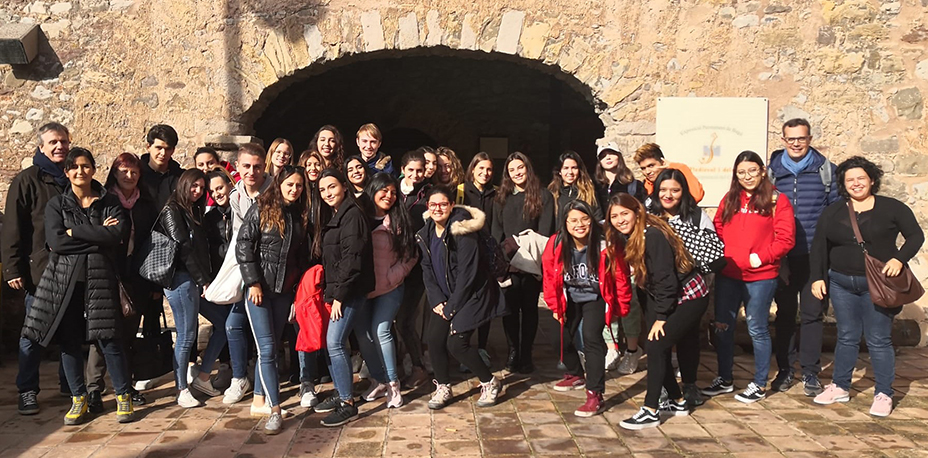 Estudiantes de primer curso de Grado en Turismo participan en la X Jornada de Innovación e Investigación Docente en el municipio de Bagà | Escuela Universitaria Formatic Barcelona