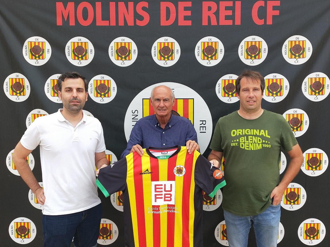 FORMATIC Brcelona nuevo patrocinador del Molins de Rei CF. | Escuela Universitaria Formatic Barcelona